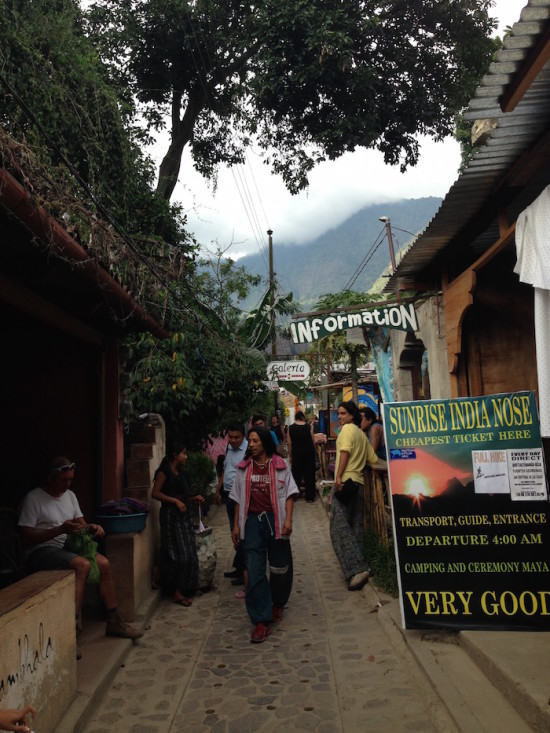 Sam Marco de la Laguna, little hippie town on Lake Atitlan