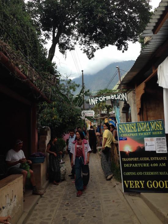 Sam Marco de la Laguna, little hippie town on Lake Atitlan