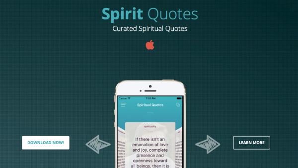 SpiritQuote iOS App